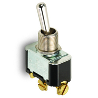 NTE 54-008 SWITCH TOGGLE SPST 15A ON-NONE-OFF 125VAC