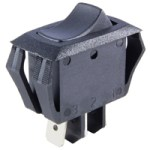 NTE 54-061 SWITCH ROCKER MINIATURE SNAP-IN SPDT ON-NONE-ON 16A 125VAC