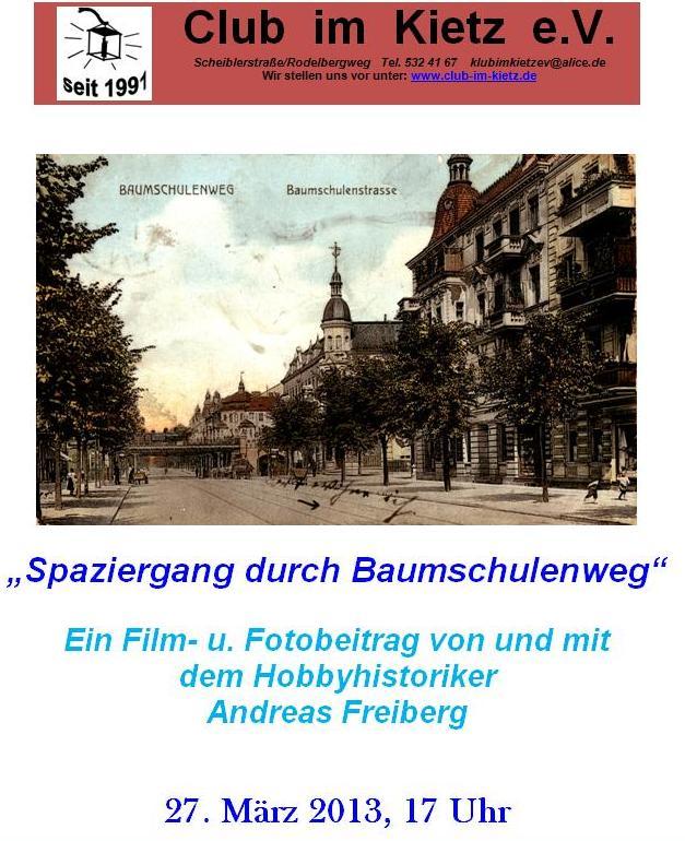 Filmvorführung im