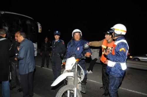 زاكورة.. البوليس يحبط محاولة اقتحام العمالة