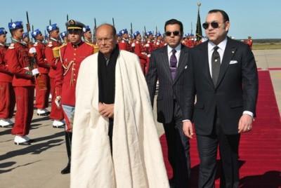 المغرب/ تونس.. رسالة من الرئيس المرزوقي إلى الملك محمد السادس