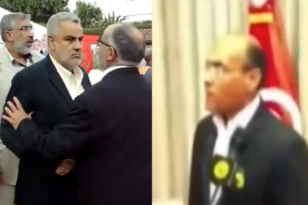 """قال لبنكيران ما كتعرف والو… الرئيس التونسي """"يكشكش"""" على صحافي بسبب البورطابل (فيديو)"""
