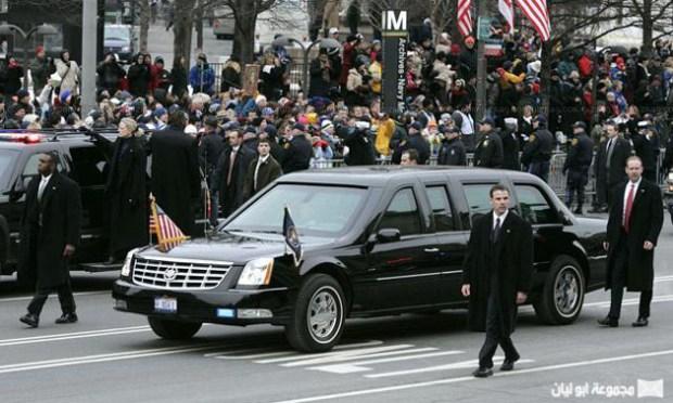 ما لا تعرفونه عنها.. سيارة الرئيس أوباما!! (صور)