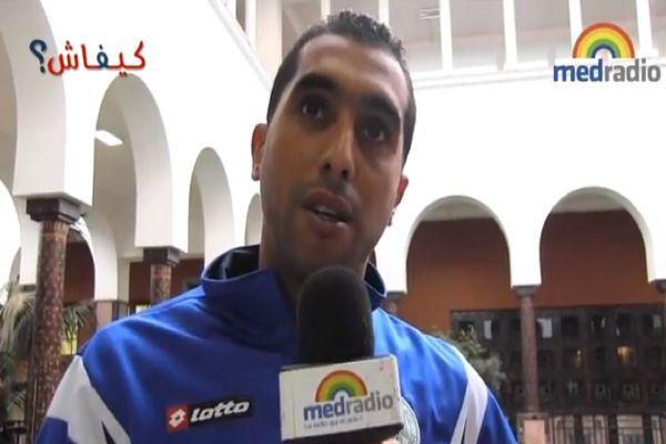 حمزة بورزوق لـ كيفاش: أنا ماشي بلطجي (فيديو)