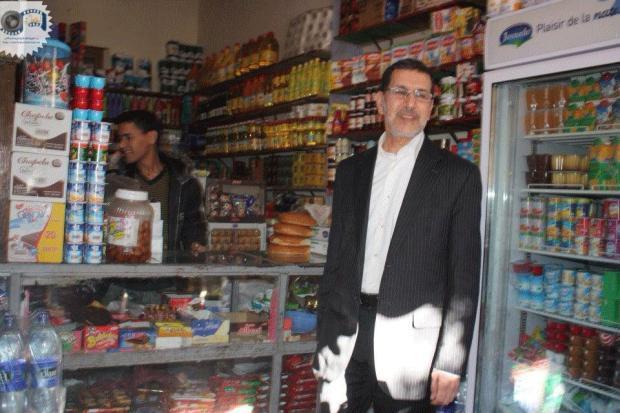 إنزكان.. وزير الخارجية في الحانوت