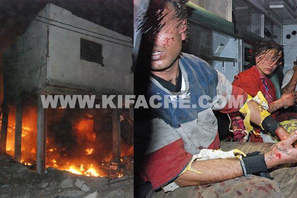 كازا.. حريق معمل البلاستيك (صور)