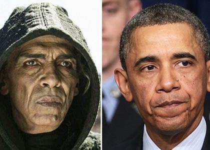 مسلسل صور في المغرب يحدث ضجة في أمريكا.. الوزاني يمثل دور شيطان يشبه أوباما (فيديو)