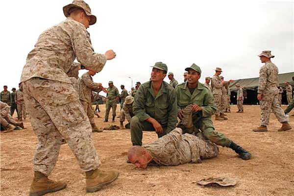 المغرب يلغي تداريب عسكرية مع الميريكان.. ما بقيناش لاعبين