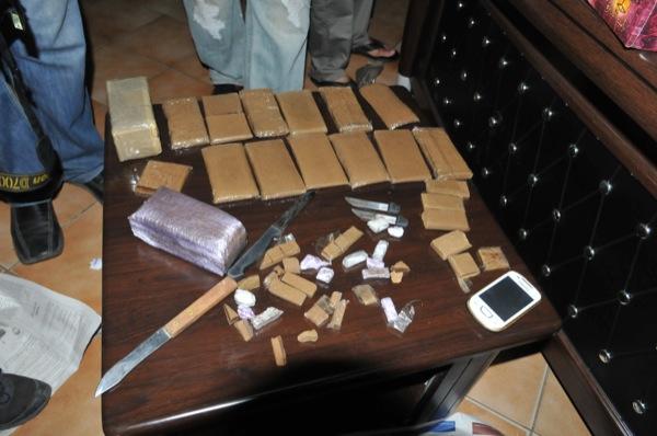 تازة.. حجز أزيد من نصف طن من المخدرات