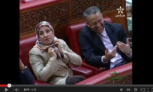 الشوباني في مجلس المستشارين.. ضحك هجروه ليه