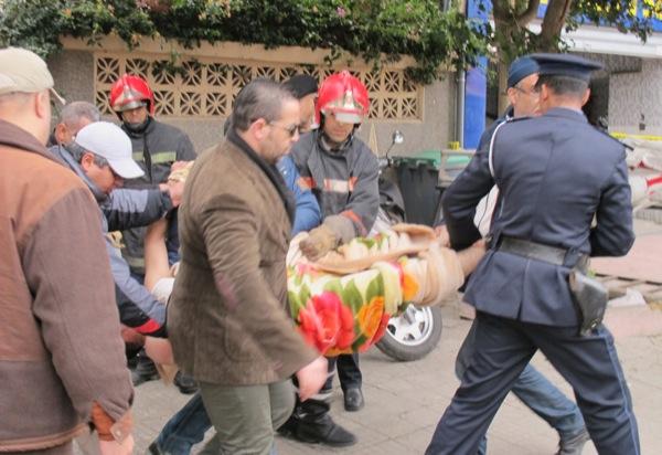 كازا.. شرطي سابق يحاول الانتحار (صور)
