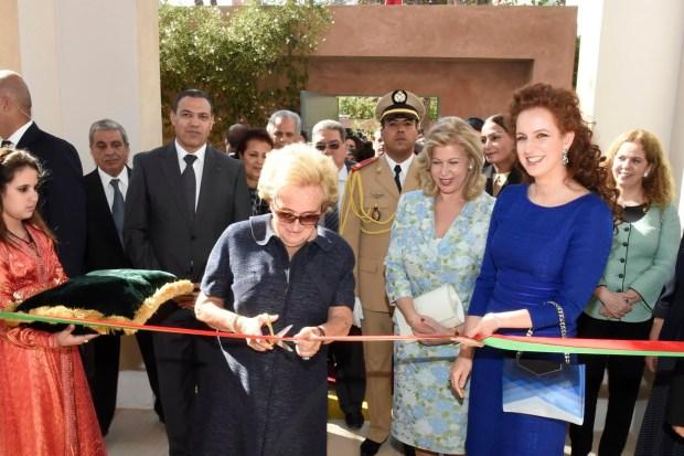 مراكش.. الأميرة للا سلمى ودومينيك وتارا في زيارة إلى المستشفى الجامعي