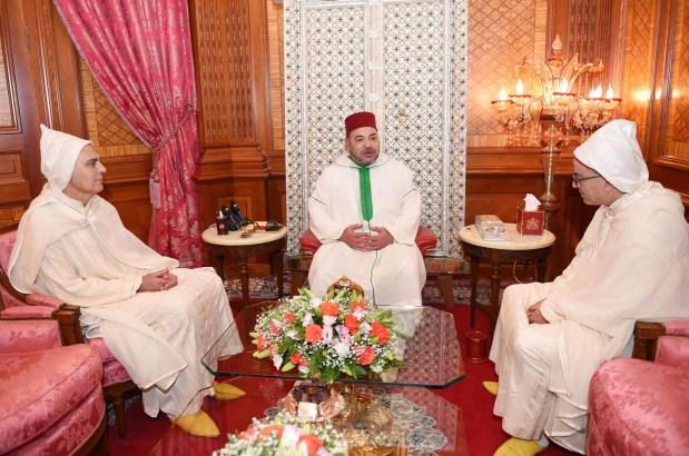 القصر الملكي في الدار البيضاء.. الملك يستقبل أوجار