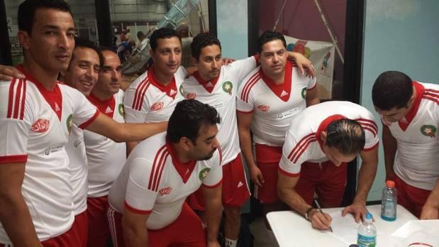 المنتخب المغربي للفنانين والإعلاميين