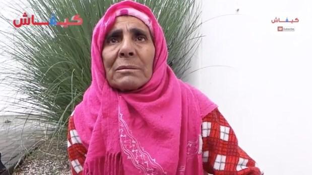بالفيديو.. معاناة سيدة تعاني سرطان الرحم