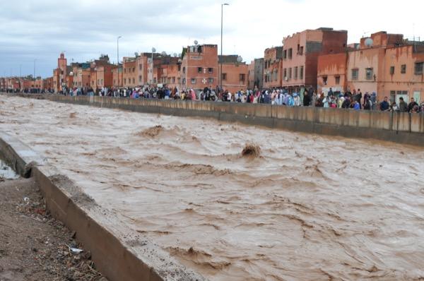 فيضانات المغرب.. الله يحد الباس