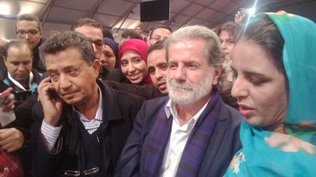 """بالصور.. """"الجوقة"""" على مارسيل خليفة في منتدى حقوق الإنسان في مراكش"""