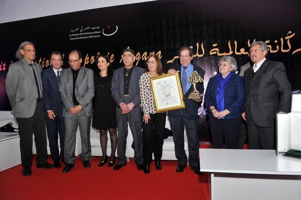 كازا.. جائزة أركانة للشاعر البرتغالي نونو جوديس (صور)