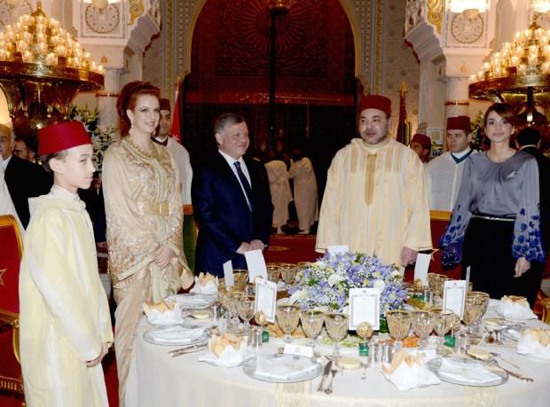 الدار البيضاء.. عشاء ملكي على شرف ملك الأردن