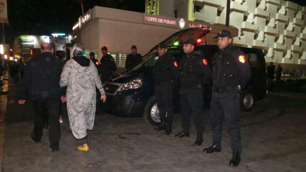 ليلة رأس السنة.. استعدادات الأمن (صور)