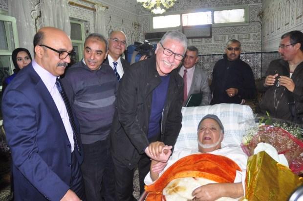 مراكش.. الوردي الوزير عند عبد الجبار لوزير (صور)