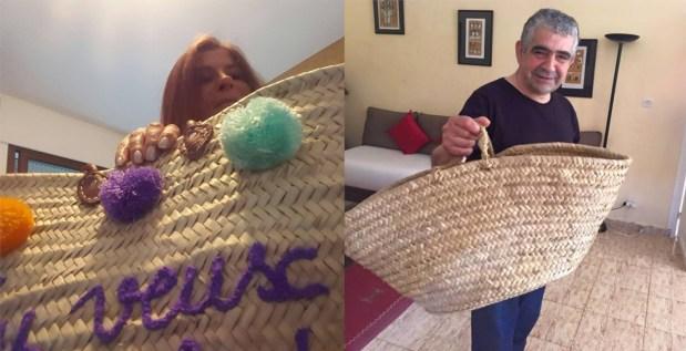 بالقفة التقليدية.. اليزمي وسيطايل يدعمان حملة زيرو ميكا