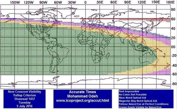 باحث في الرابطة المحمدية للعلماء: عيد الفطر يوم الأربعاء
