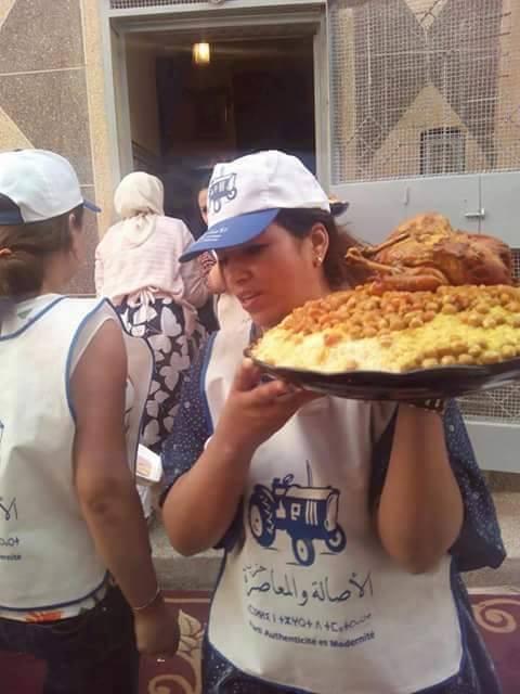 وجبة سياسية.. كسكسو التراكتور
