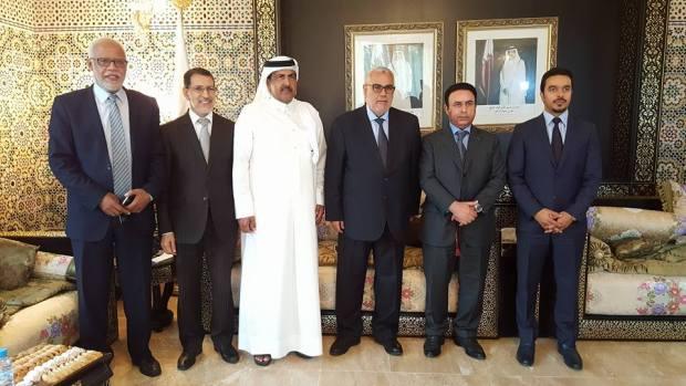 سفارة قطر/ الرباط.. ابن كيران يعزي في الأمير خليفة بن حمد آل ثاني (صور)