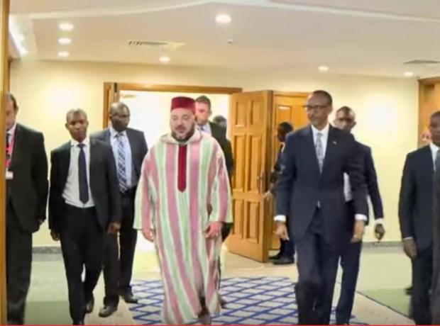 رواندا.. الملك يترأس حفل توقيع 19 اتفاقية