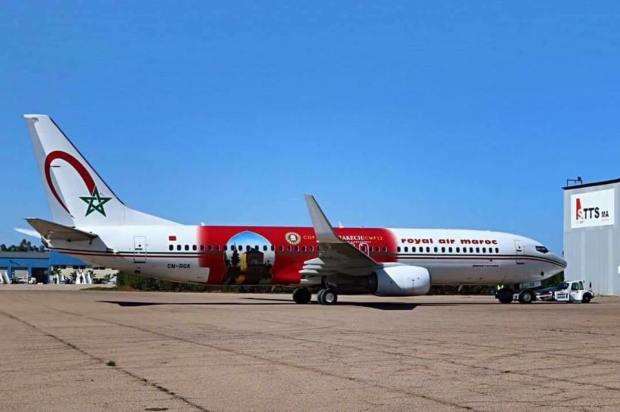 لارام.. طائرات بألوان قمة المناخ (صور)