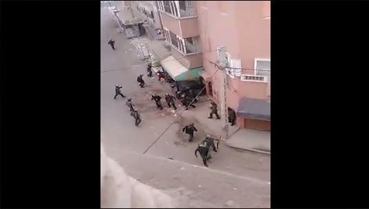 بسبب البناء العشوائي.. مواجهات عنيفة في سيدي بيبي (فيديو)
