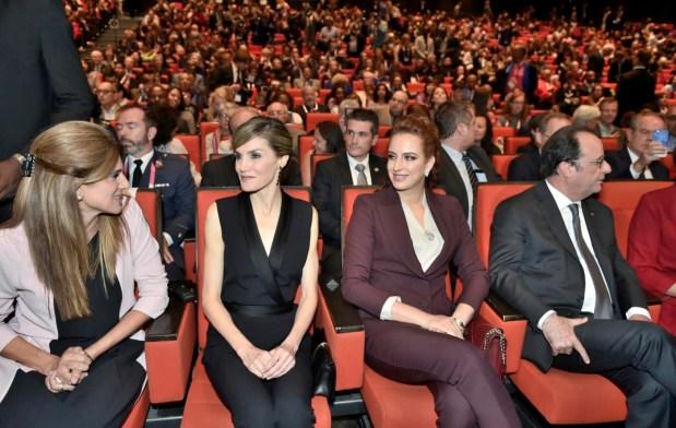 باريس.. الأميرة للا سلمى في المؤتمر العالمي ضد السرطان