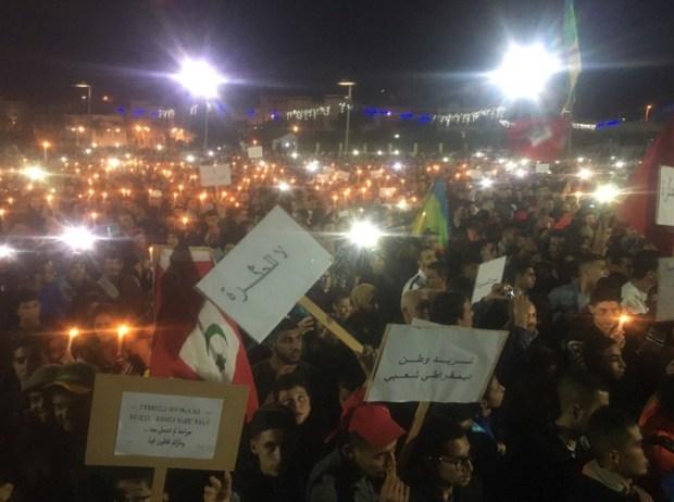 أسبوع على مقتل محسن فكري.. الحسيمة تحتج
