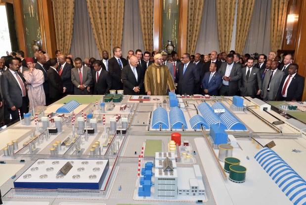 بـ3.7 ملايير دولار.. الملك والرئيس الإثيوبي يطلقان منصة من الطراز العالمي لإنتاج الأسمدة