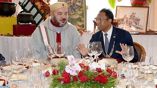 مدغشقر.. الملك يقيم مأدبة عشاء على شرف المشاركين في القمة الفرونكفونية