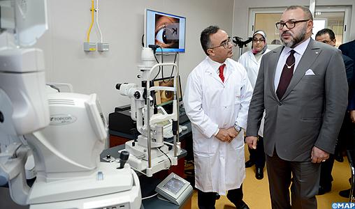 منجز بـ31,6 مليون درهم.. الملك يدشن مستشفى في مراكش
