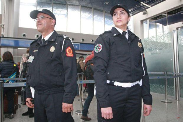 بوليس مطار كازا.. الكسوة الجديدة (صور)