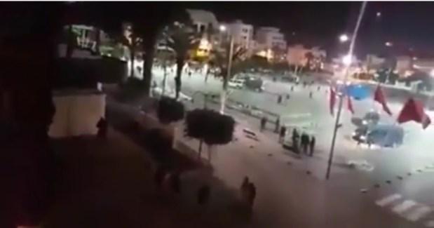 الحسيمة.. نايضة عاوتاني بسبب محسن فكري!! (فيديو)