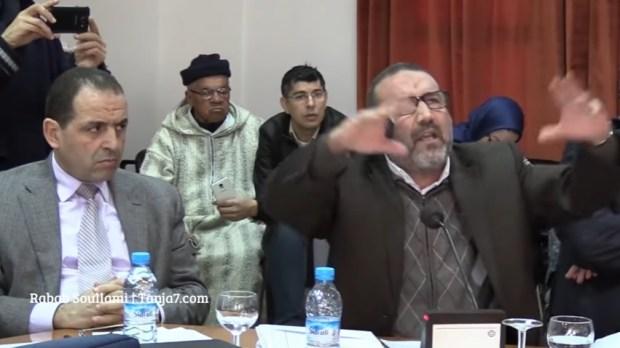 بسبب موقفه من العماري.. الصكوعة محاميين على عمدة طنجة (فيديو)