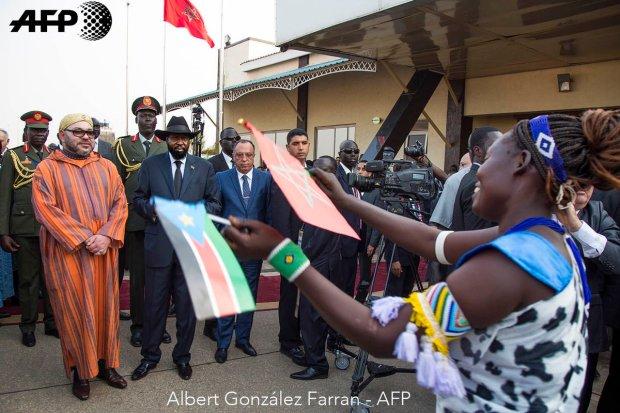 جوبا.. الملك يزور المستشفى الميداني وضريح زعيم استقلال جنوب السودان