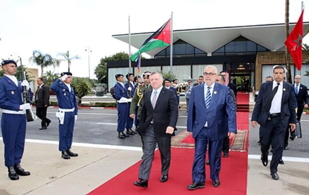 بعد زيارة رسمية.. ملك الأردن يغادر المغرب