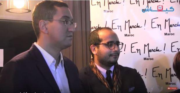 """بالفيديو.. حركة """"en marche"""" ديال ماكرون وصلات للمغرب!"""