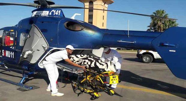 هلكها الصهد.. نقل مسنة من تاونات إلى فاس بمروحية طبية
