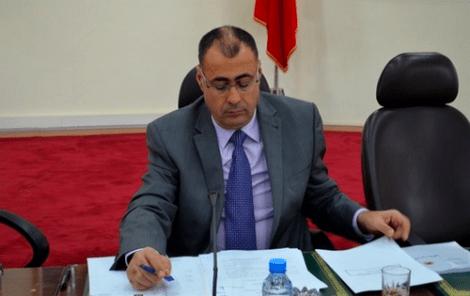 رئيس المجلس الإقليمي للحسيمة: التزموا الهدوء لإنقاذ الموسم الصيفي