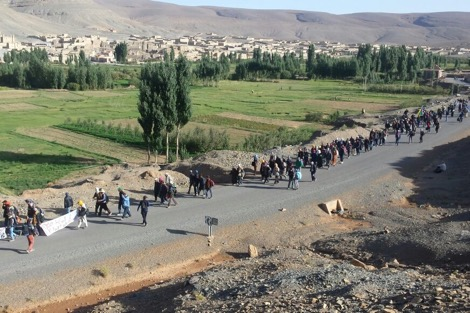 بسبب تدهور أوضاع الصحة والتعليم.. احتجاج سكان دوار أكدال في تنغير