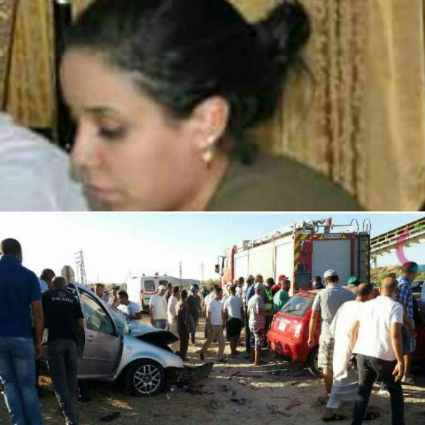 بالصور من الفقيه بن صالح.. وفاة قائدة في حادثة سير