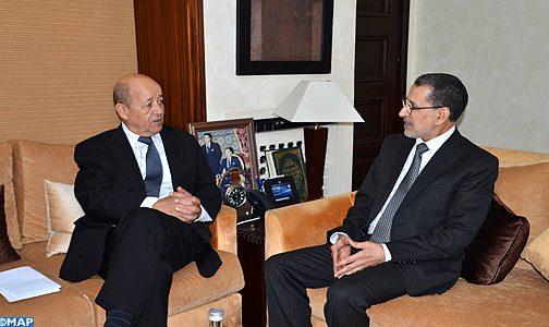 تباحثا حول عدد من الملفات.. العثماني يلتقي مع الوزير الفرنسي لأوروبا والشؤون الخارجية