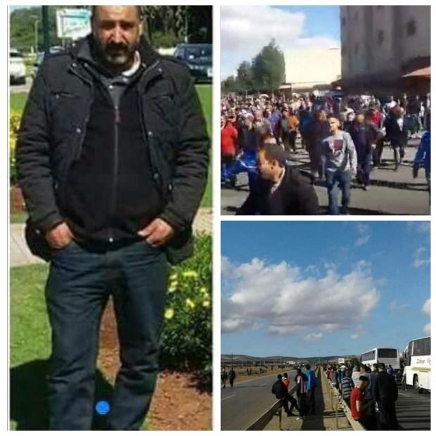 بالصور والفيديو من بني درار.. نايضة بعد مقتل شخص برصاص جندي مغربي