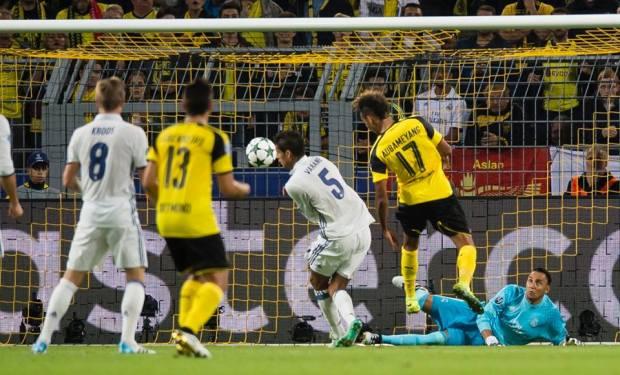 بهدفين لمثلهما.. بروسيا دورتموند ينتزع تعادلا ثمينا أمام ريال مدريد